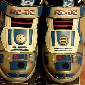 Boys Star Wars Skechers Sneakers Size 13.5